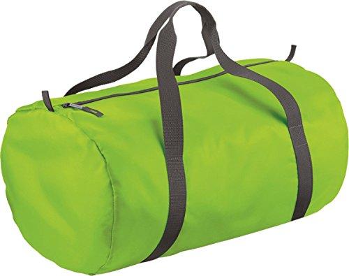 BagBase Packaway Barril Bolsa lime green