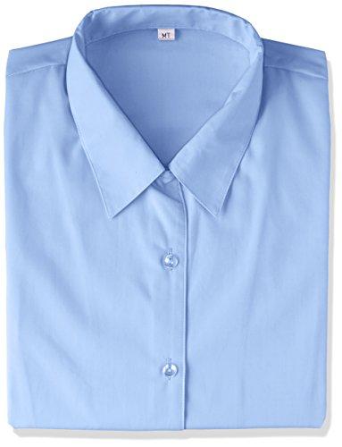 凍結経過テクスチャー[セシール]形態安定ハマカラーシャツ(長袖)(UVカット?抗菌防臭) レディース