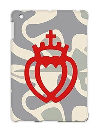 Vendee Heart King Double Crown Symbols Shapes France Cross Faith