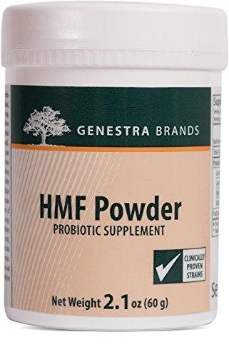 Genestra Brands - HMF Powder - Four Strains of Probiotics to Promote GI Health* - 2.1 oz (60 g)