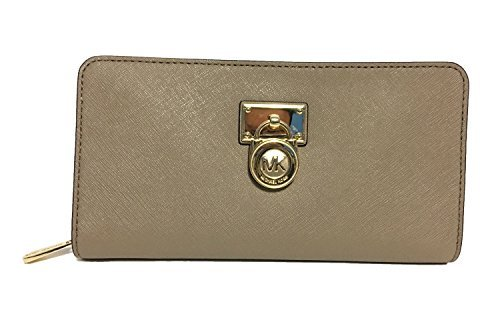 Michael Kors Ballet Saffiano Leather Hamilton Traveler Wallet by Michael Kors