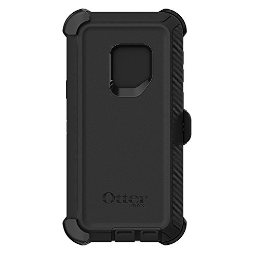 OtterBox Defender Series Case for Samsung Galaxy S9 ONLY (not Plus) with a Belt Clip Holster - Black