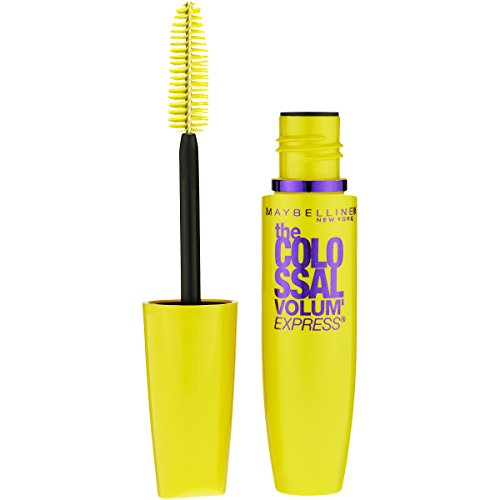 Maybelline Makeup Volum' Express The Colossal Washable Mascara, Glam Black Mascara, 0.31 fl oz