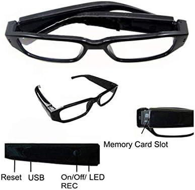 LIDAUTO Cámara Oculta Deporte Gafas de Video Gafas espía Mini DV Videocámara 1080P HD