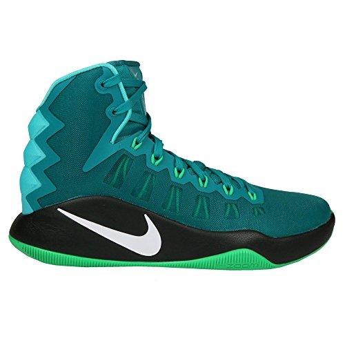Nike Heren Hyperdunk 2016 Basketbalschoenen Rio Teal / Wit Groen Spark Blk