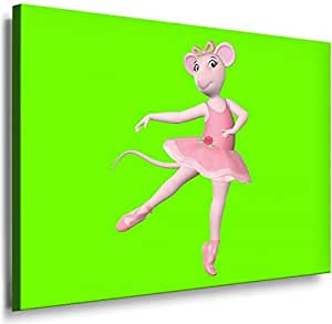 Cartoon Characters- 8001c, Printed On Canvas 100x70cm, With Wooden Frame