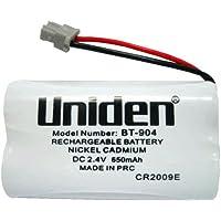 2 X UNIDEN Original Genuine BT904 BT-904s Cordless Phone Rechargeable Battery