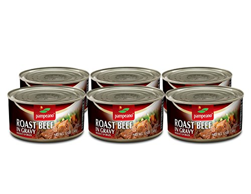 Pampeano Roast Beef in Gravy (6 Pack)