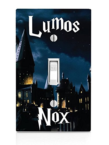 Light Switch Covers Kids - Lumos Nox Light Switch Plate (NOT A DECAL) - Actual Printed Outlet Cover