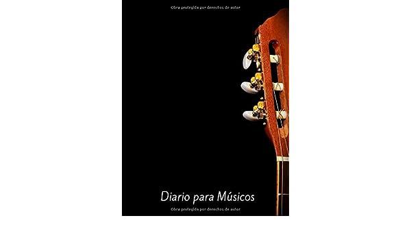 Diario para Músicos: Diario para Músicos Tamaño Grande A5 ...