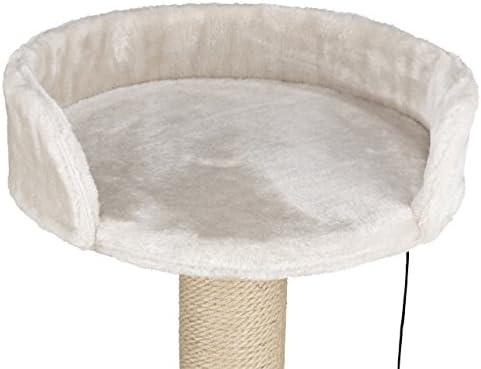 TRIXIE Mica Arbre à Chat Gris Clair 46 cm