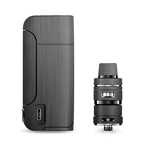IT'S A SKIN Decal Vinyl Wrap for Vaporesso Armour Pro Cascade Tank Vape Sticker Sleeve Cover/Brushed Metallic Pattern ()
