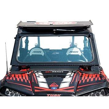 Tusk UTV FOLDING Heavy Duty Glass Windshield - POLARIS RZR 1000 900 XP S S4 XC