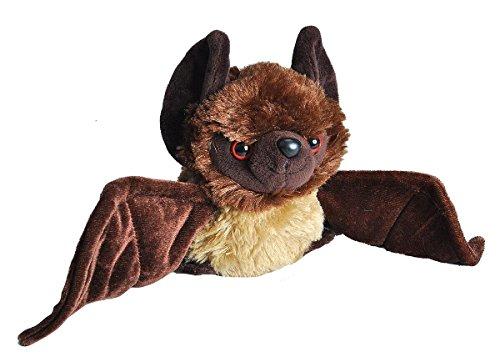 Wild Republic Bat Plush, Stuffed Animal, Plush Toy, Gifts for Kids, HUG'EMS 7 inches ()