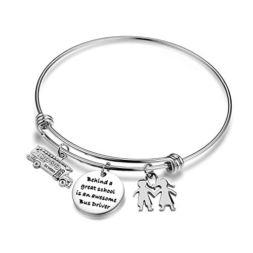 (ENSIANTH Bus Driver Bracelet an Awesome Bus Driver Appreciation Gift Student Gift for Bus Driver (Bus Driver Bracelet))