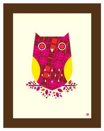 (pattern series: plaid owl)