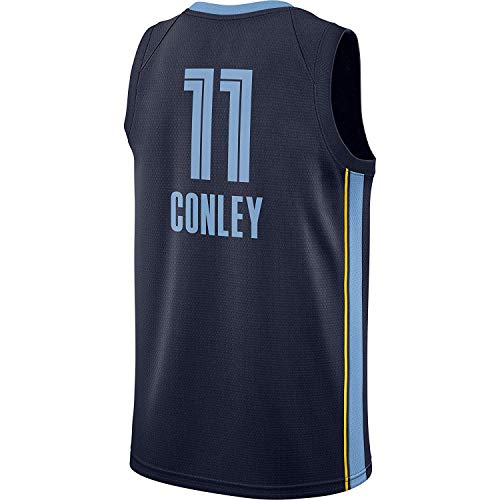 Men's/Youth_Mike_Conley_#11_Basketball_Fans_Jerseys_Youth_Navy_Game_Jersey ()