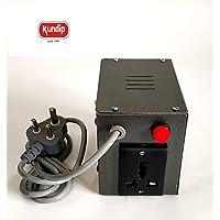 Kundip Voltage Converter 220V to 110V Step Down Transformer Based Universal Socket Adapter (250 Watts)