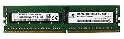Hynix Original 8GB (1x8GB) Server Memory Upgrade for Dell Poweredge, Dell Precision & HP Proliant Servers DDR4 2133MHz PC4-17000 ECC Registered Chip 1Rx4 CL15 1.2V DRAM Adamanta