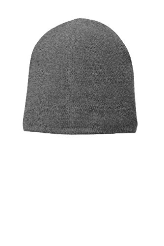 Port & Company Fleece-Lined Beanie Cap CP91L Athletic Oxford One (Port & Company Oxfords)