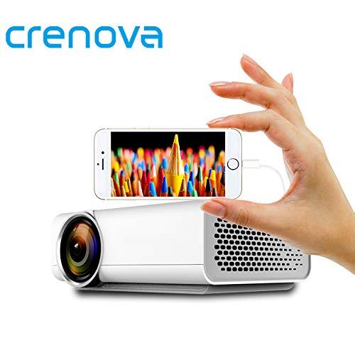 Crenova® YG520 - Proyector LED con conexión para Smartphone ...