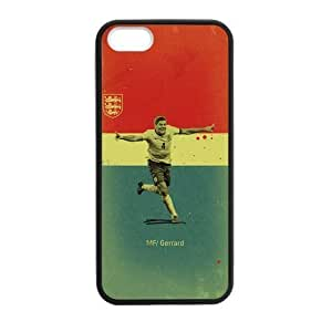 iPhone 5 Case, [soccer] iPhone 5,5s Case Custom Durable Case Cover for iPhone5 TPU case(Laser Technology) by icecream design