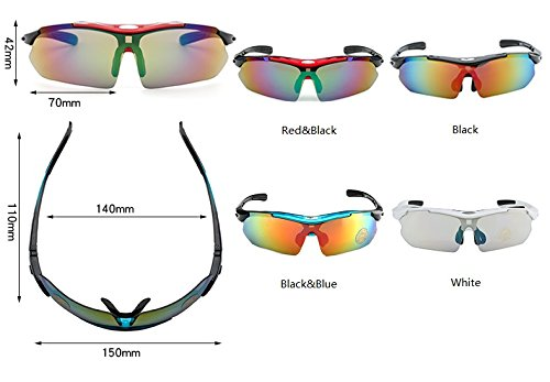 Hot Eyewear Red Sol Quality Alta Conducción Black Male Aire Ciclismo Masculino Gafas Oculos Sol Hombres Designer Libre De UV400 Cicongzai Color black de Brand al I8qxwgtId