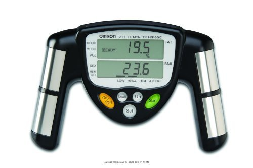 Omron Healthcare Omron Fat Loss Monitor, Bodylogic Body F...