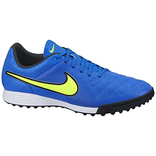 Nike Genio Leather Tf Turf Voetbalcleats (zweven Blauw)