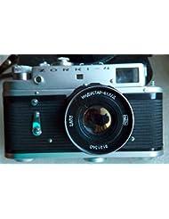 Zorki 4 USSR Soviet Union Russian rangefinder camera with Industar-61 l/d 2.8/55 S/n 70150113