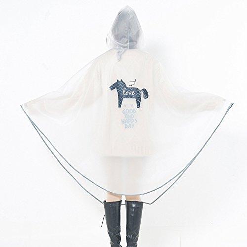 original la Impermeable la aire de pony excursión solo las mujeres coche manera y de al va los de de que bici hombres poncho libre de eléctrico qXxxdPr