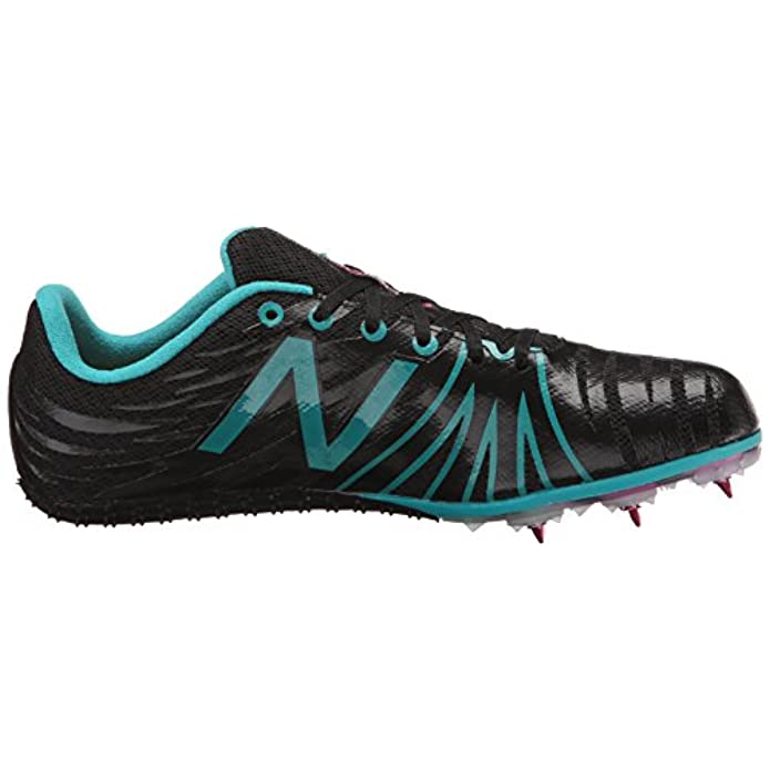 New Balance Women's Wsd100v1 Track Spike Shoe Black blue 10 B Us