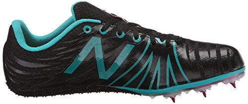 New Balance Womens WSD100V1 Track Spike Shoe Black/Blue