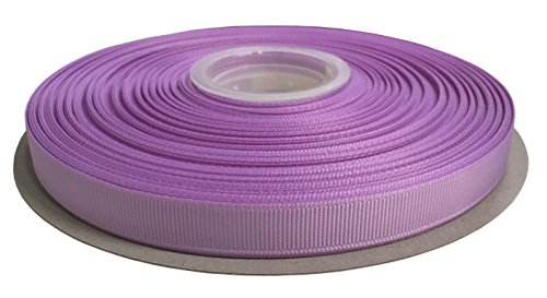 Duoqu 1/2 Inch Wide Grosgrain Ribbon 50 Yards Roll Multiple Colors (Light Orchid)