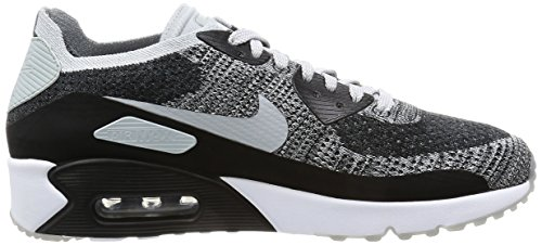 Platinum 2 Black Ultra Nike Max Flyknit Mens White 90 Air 005 0 Pure qnngPpX