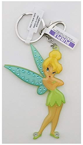 Disney Parks Keychain - Tinker Bell Acrylic with Rhinestones