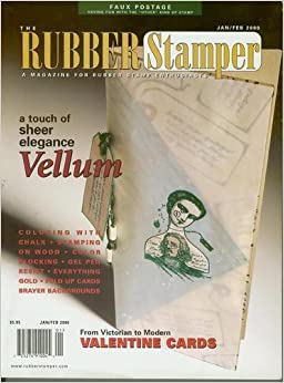 The Rubber Stamper Magazine January February 2000 For