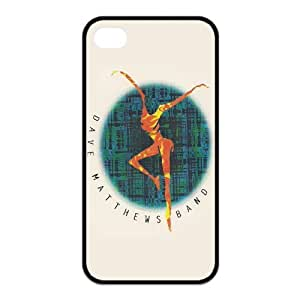 Painted dave matthews TPU Hard back phone Case cover Iphone 4s 4