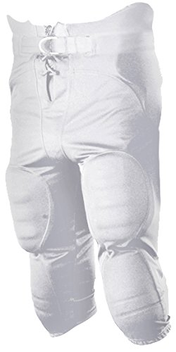 "Alleson 687P Adult ""Solo"" Series Integrated Football Pant White XL ()"