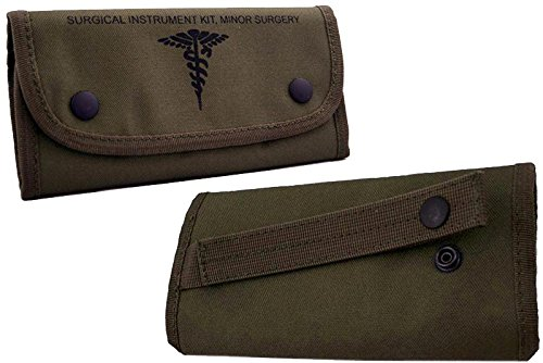 U.S. Military Surplus Medical Tools with Case New