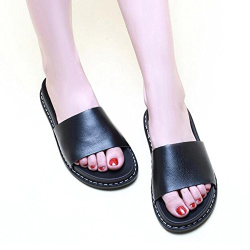 Kvinder H Enkelt Sommer Sandaler Ue36 Qidi Uk4 Blå Størrelse Abrikos farve Sko Højhælede Sølv Sølv qEZw86w