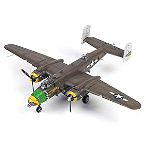Academy 12328 1:48 USAAF B-25D Pacific Theatre US Army Air Forces Plamodel Plastic Hobby Model Airplane Kit Toy (Paint… 3