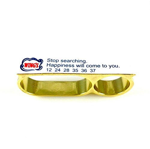 MizDragonfly Fortune Cookie Ring - Happiness