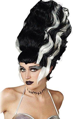 Bride of Frankenstein Wig Costume Accessory