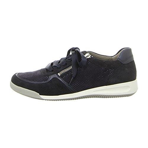 12 Azul Ara 4443 Sneaker Rom Mujer Hwaqxg1U