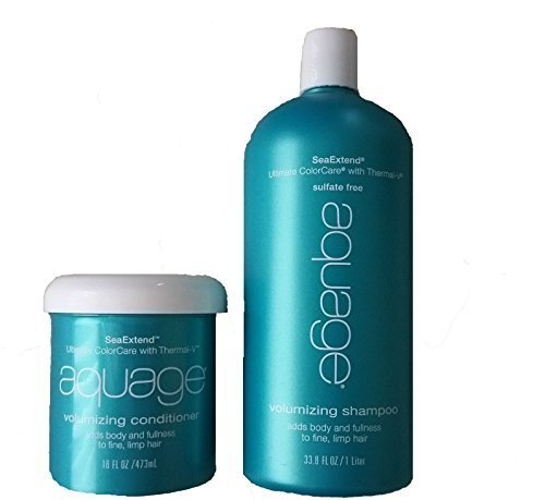 Conditioner Seaextend Aquage Volumizing - Aquage Volumizing Shampoo 33.8 Oz and Volumizing Conditioner 16 Oz