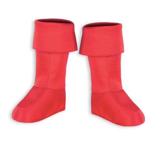 Disguise Men's Marvel Captain America Boot Covers - Adult, Red, One Size (Captain America Boot Covers)