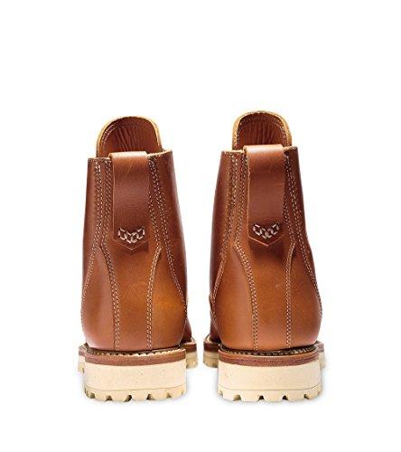 Cole Haan Mens Maine Robust Vanligt Tå Boot 11,5 (m) Tan Läder