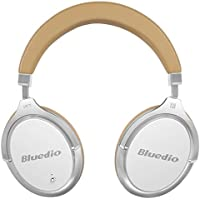 Bluedio F2 (Faith) Active Noise Cancelling Over-ear Business Wireless Bluetooth Headphones with Mic (White)