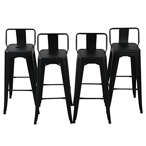 Changjie Furniture Pack of 4 Low Back